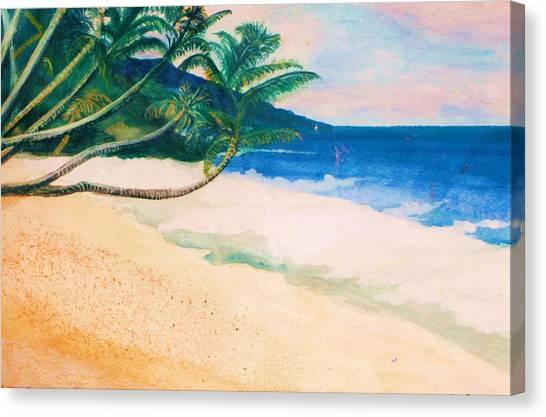Canvas Print - Tranquility by Anne-elizabeth Whiteway