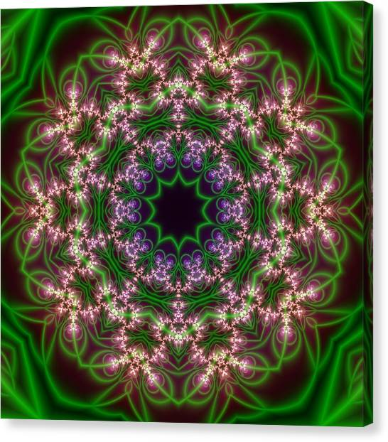 Transition Flower 10 Beats Canvas Print