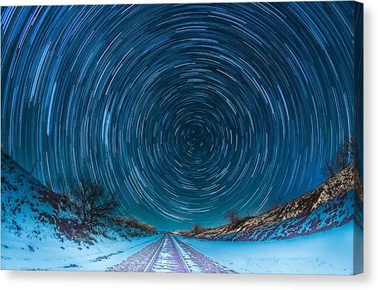 Travel North  Canvas Print