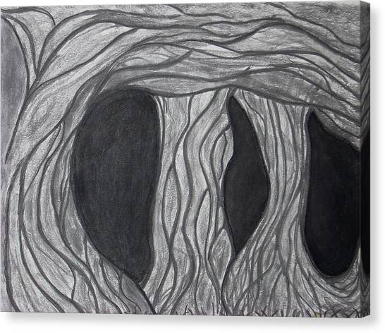 Trees Canvas Print by Marsha Ferguson