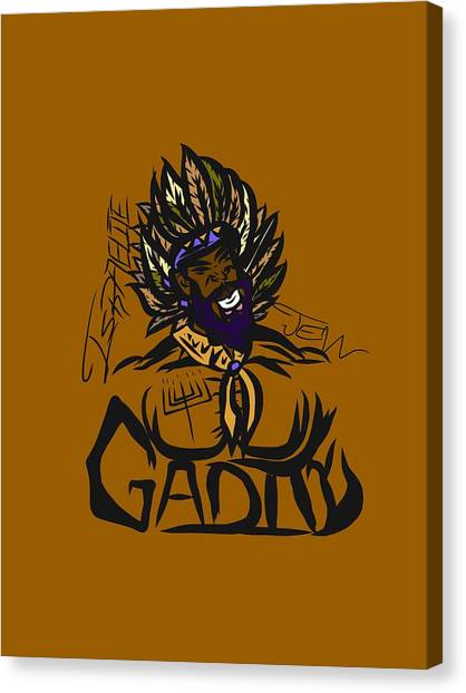 Tribe Of Gad Canvas Print