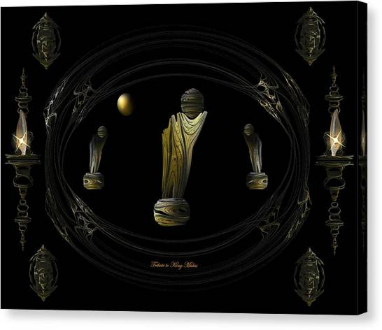 Tribute To King Midas Canvas Print by Ricky Kendall
