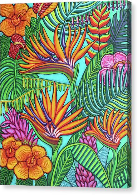 Tropical Gems Canvas Print