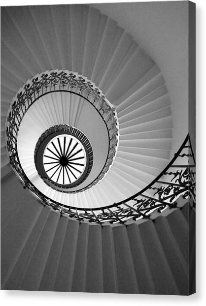 Tulip Staircase Canvas Print