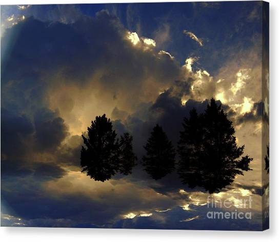 Tumultuous Canvas Print