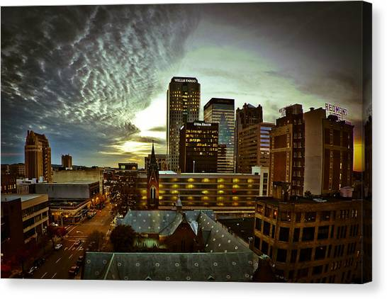 Twilight Birmingham Canvas Print