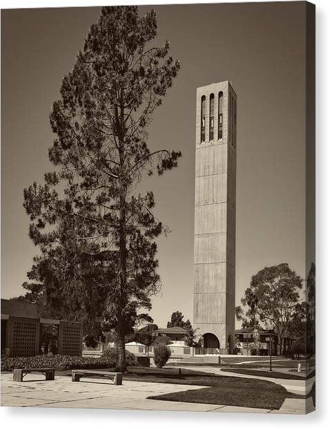 Ucsb Canvas Print - U C S B Campus by Mountain Dreams