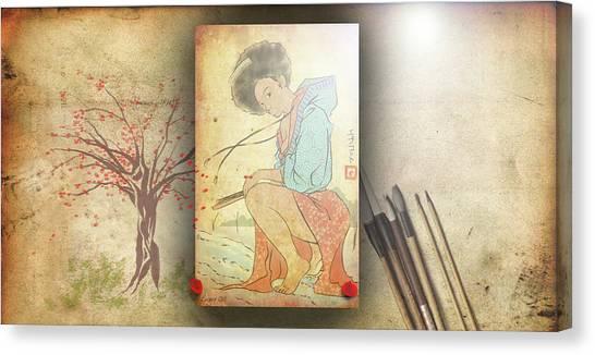 Ukyo-e Soul Canvas Print