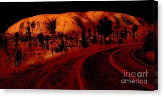 Uluru Sunrise Canvas Print