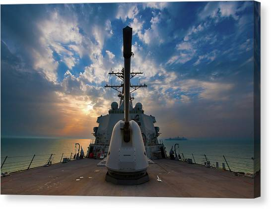 Submarine Canvas Print - United States Navy by Super Lovely