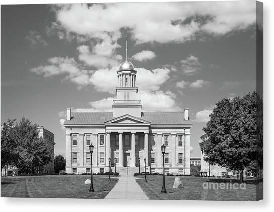 University Of Iowa Canvas Print - University Of Iowa Old Capital by University Icons