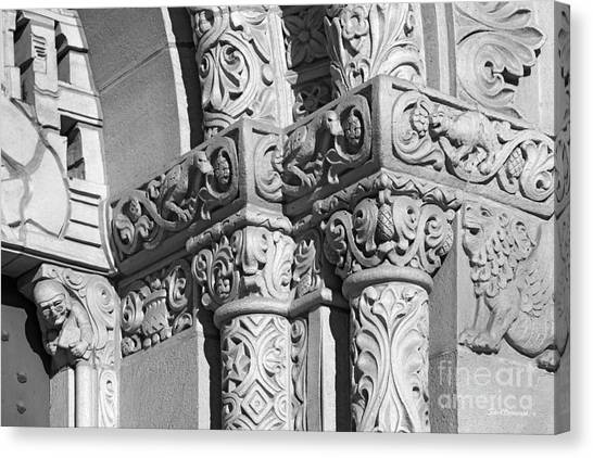 University Of Southern California Usc Canvas Print - University Of Southern California Detail by University Icons