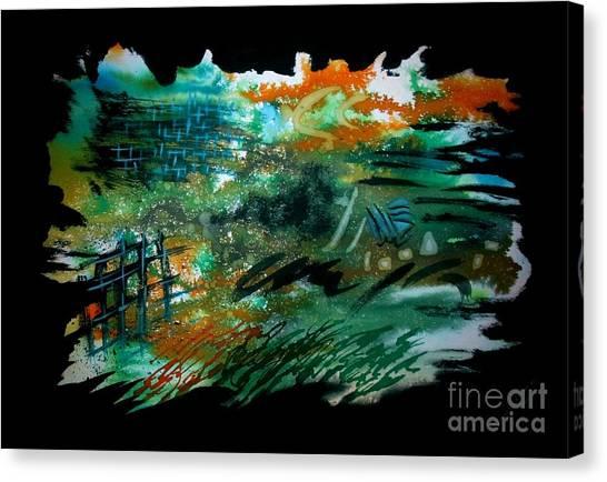 Untitled-104 Canvas Print