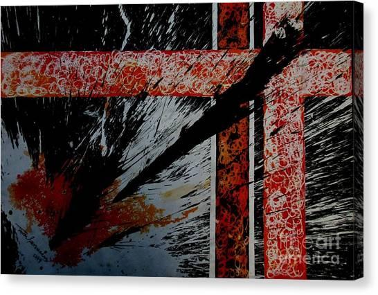 Fencing-2 Canvas Print