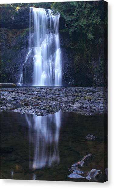 Upper North Falls Canvas Print