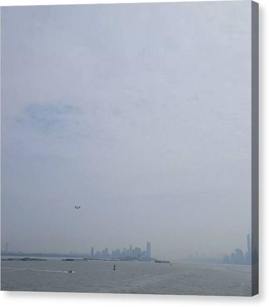Osprey Canvas Print - #urbanpov #nyc #newyorkcity by Crook Bladez