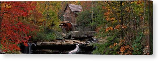 Grist Canvas Print - Usa, West Virginia, Glade Creek Grist by Panoramic Images