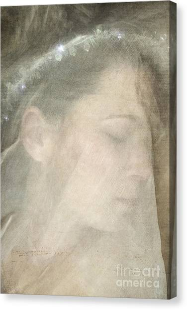 Veiled Princess Canvas Print