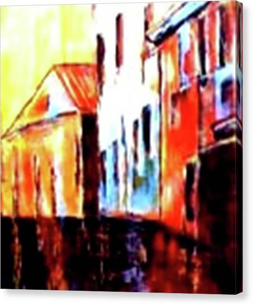 Venice Canal Cruise 1 Canvas Print