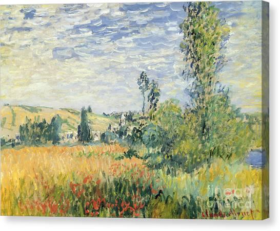 Painters Canvas Print - Vetheuil by Claude Monet
