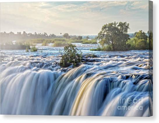 Victoria Falls Canvas Print - Victoria Falls by Delphimages Photo Creations