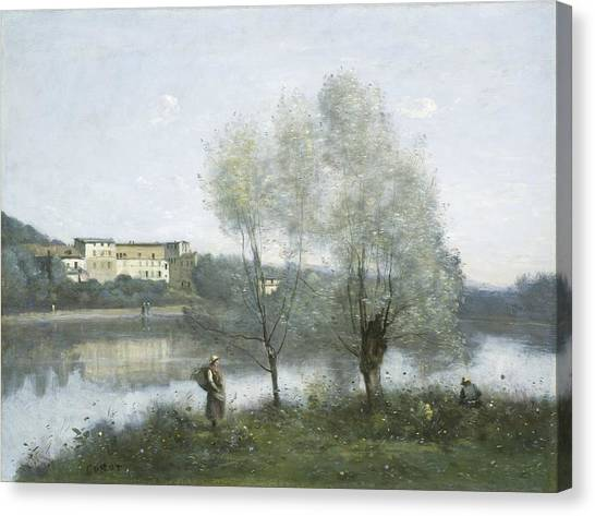 Canvas Print - Ville-d'avray by Jean-baptiste-camille Corot