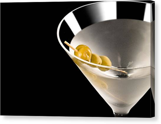 Martini Canvas Print - Vodka Martini by U Schade