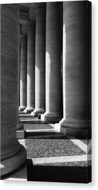 Waiting At St Peters Canvas Print