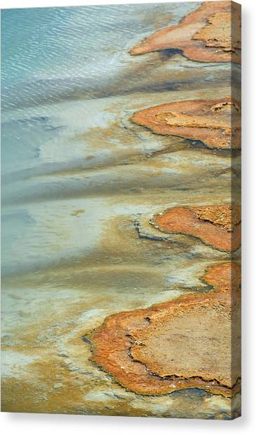 Wall Pool In Yellowstone National Park Canvas Print