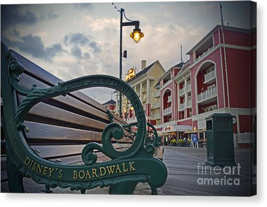 Walt Disney World - Boardwalk Villas  Canvas Print