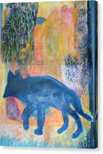 Search Canvas Print - Wanderlust II by Anne-Elizabeth Whiteway