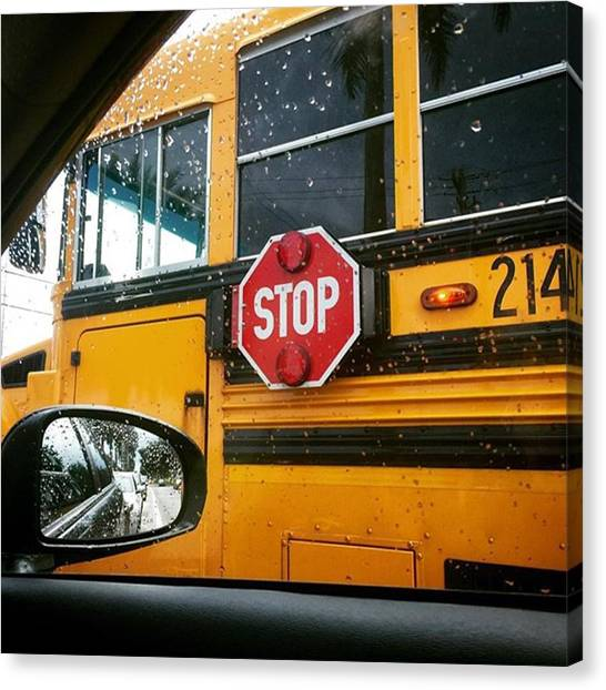 Schools Canvas Print - Way To School #juansilvaphotos by Juan Silva
