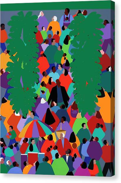Canvas Print - We The People Two by Synthia SAINT JAMES