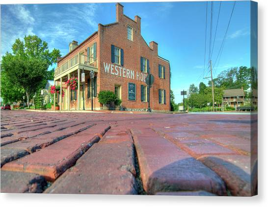 Western House Canvas Print