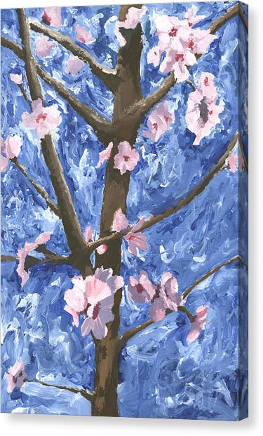 Whimsical Cherry Tree Painting By Michael Williams