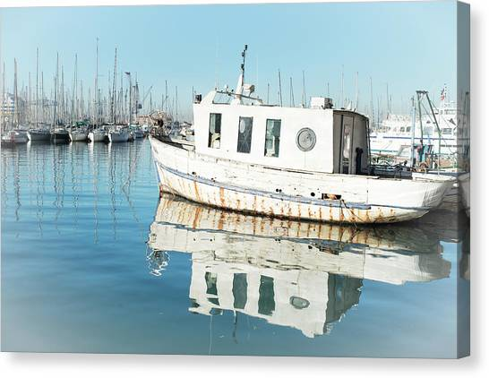 White Lady Canvas Print