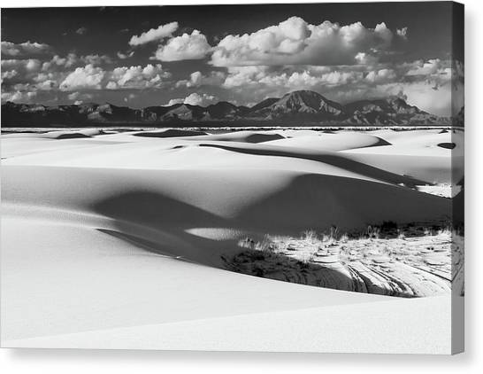 White Sands Afternoon Canvas Print