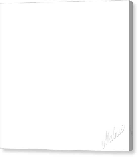 Mavlo Canvas Print - White Square by Valeriy Mavlo