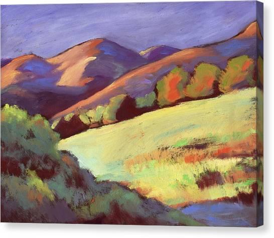 Wildcat Canyon Hillside Canvas Print
