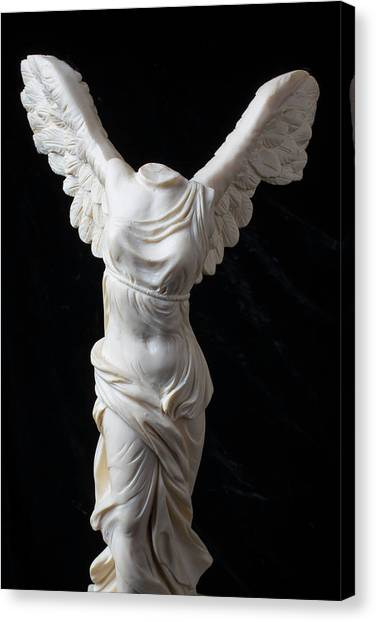Hellenistic Art Canvas Print - Winged Victory by Garry Gay