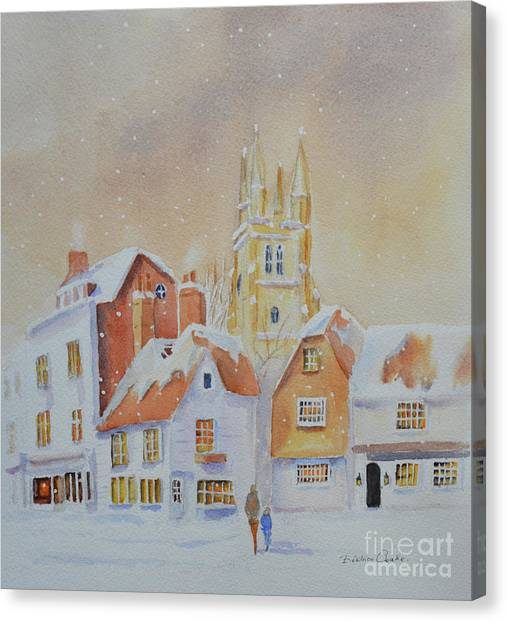 Winter In Tenterden Canvas Print