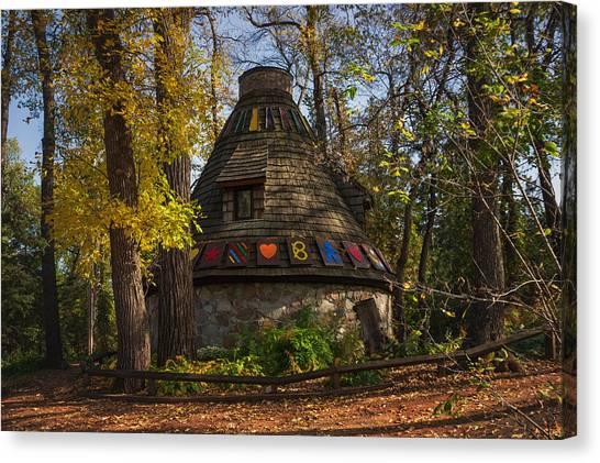 Witch's Hut Canvas Print by Bryan Scott