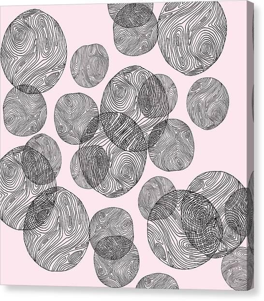 Woodprint Pattern Canvas Print