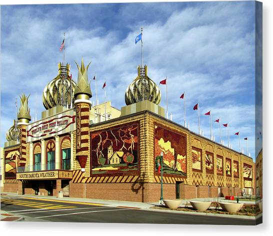 World's Only Corn Palace 2017-18 Canvas Print