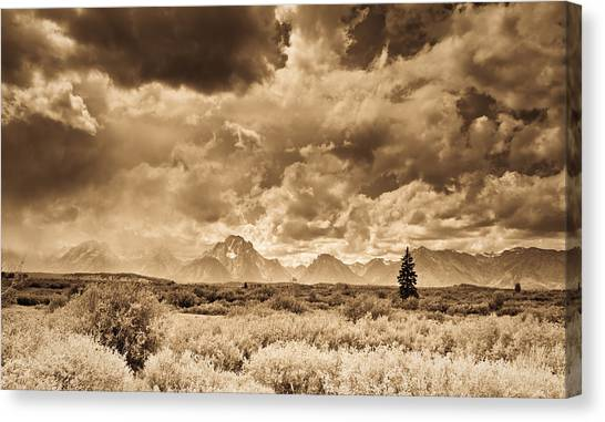 Wyoming Sky Canvas Print by Patrick  Flynn
