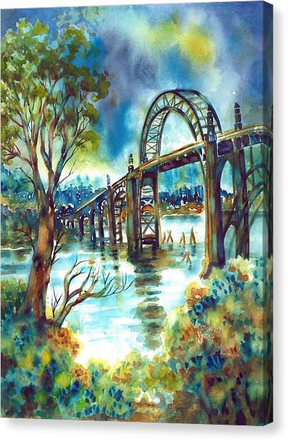 Yaquina Bay Bridge Canvas Print
