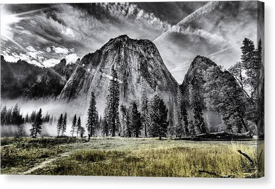 Yosemite Dawn Canvas Print