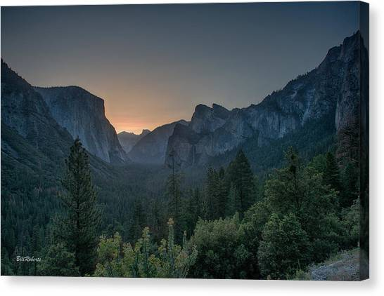 Bridal Canvas Print - Yosemite Sunrise  by Bill Roberts