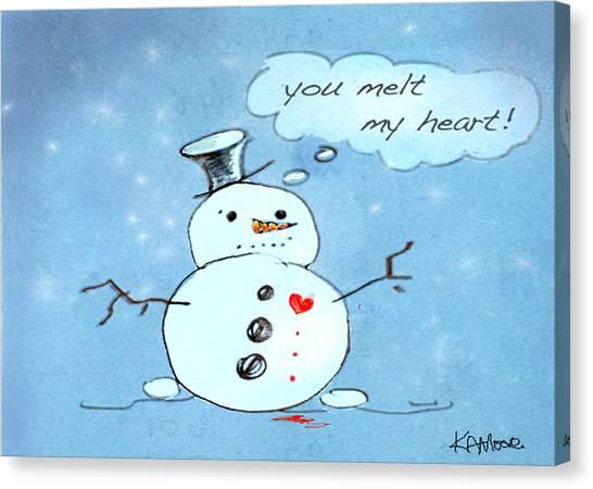 You Melt My Heart Canvas Print