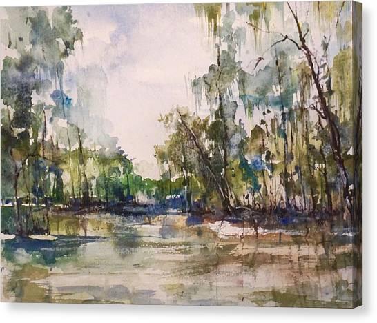 You On The Bayou Canvas Print